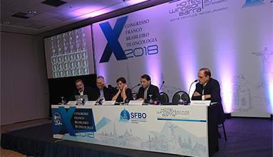 X CONGRESSO FRANCO BRASILEIRO DE ONCOLOGIA - 2018